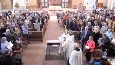 Choral Evensong – Consecration of cathedral and baptismal font