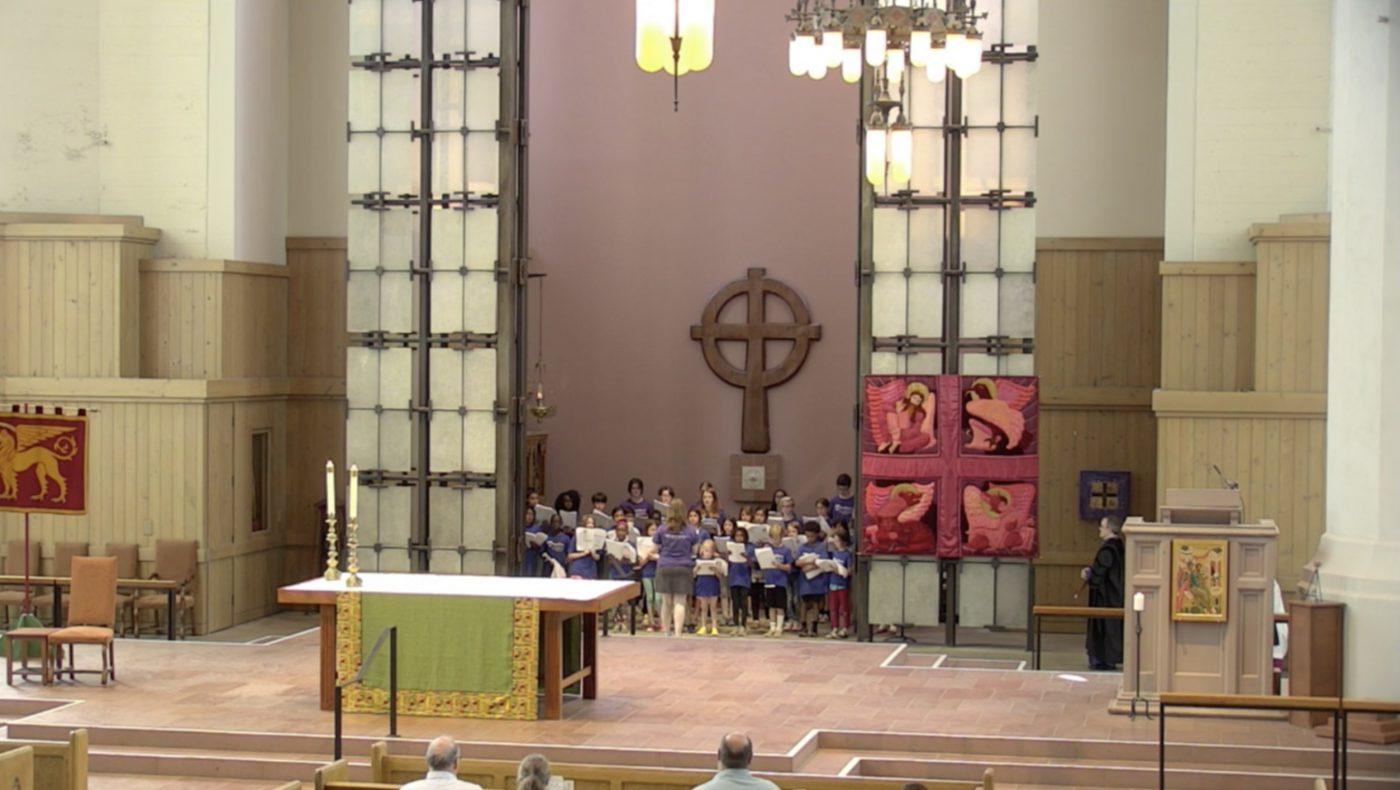 Saint Mark's Choir Camp concluding Choral Evensong
