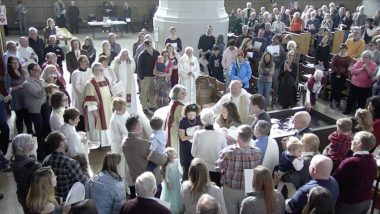 All Saints' Sunday – The Holy Eucharist with Baptisms