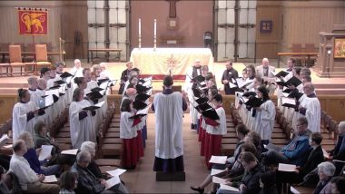 Choral Evensong – The Feast of the Presentation of Our Lord in the Temple