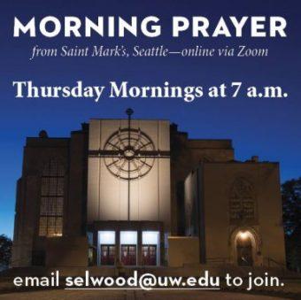 Morning Prayer, 7 a.m. Thursdays