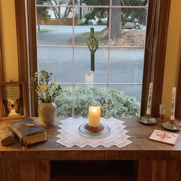 The Gilmore-Morse Family Home Altar