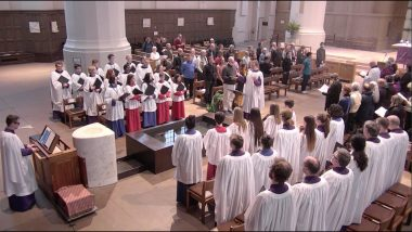 Choral Evensong on The First Sunday in Lent