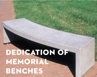 Dedication Liturgy of Memorial Benches