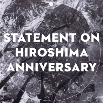 Statement on Hiroshima Anniversary
