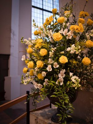 Flowers for the Feast of the Baptism of Our Lord