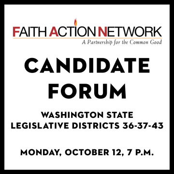 Faith Action Network Candidate Forum