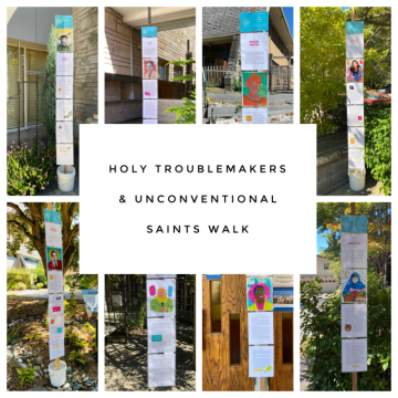 """""""Holy Troublemakers & Unconventional Saints Walking Tour"""" from St. Andrew's, Green Lake"""