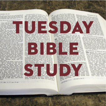Tuesday Bible Study Returns