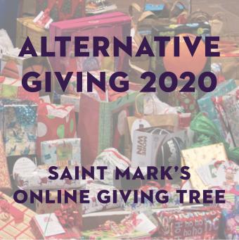 Alternative Giving 2020: Online Christmas Giving Tree