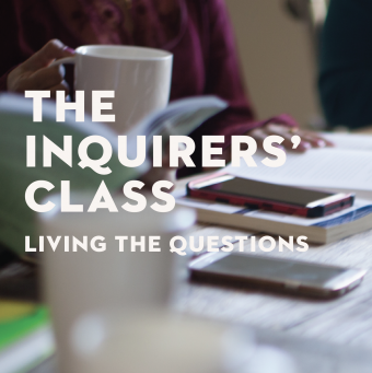 Inquirers' Class for Spring 2021
